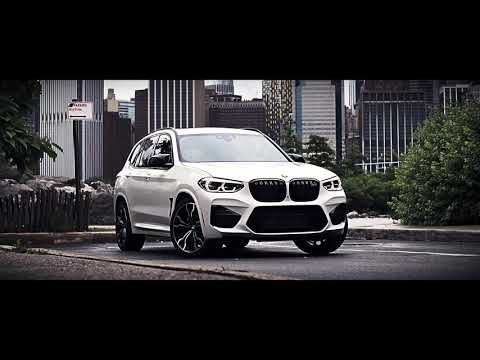 The new BMW X3 M Competition @ New York