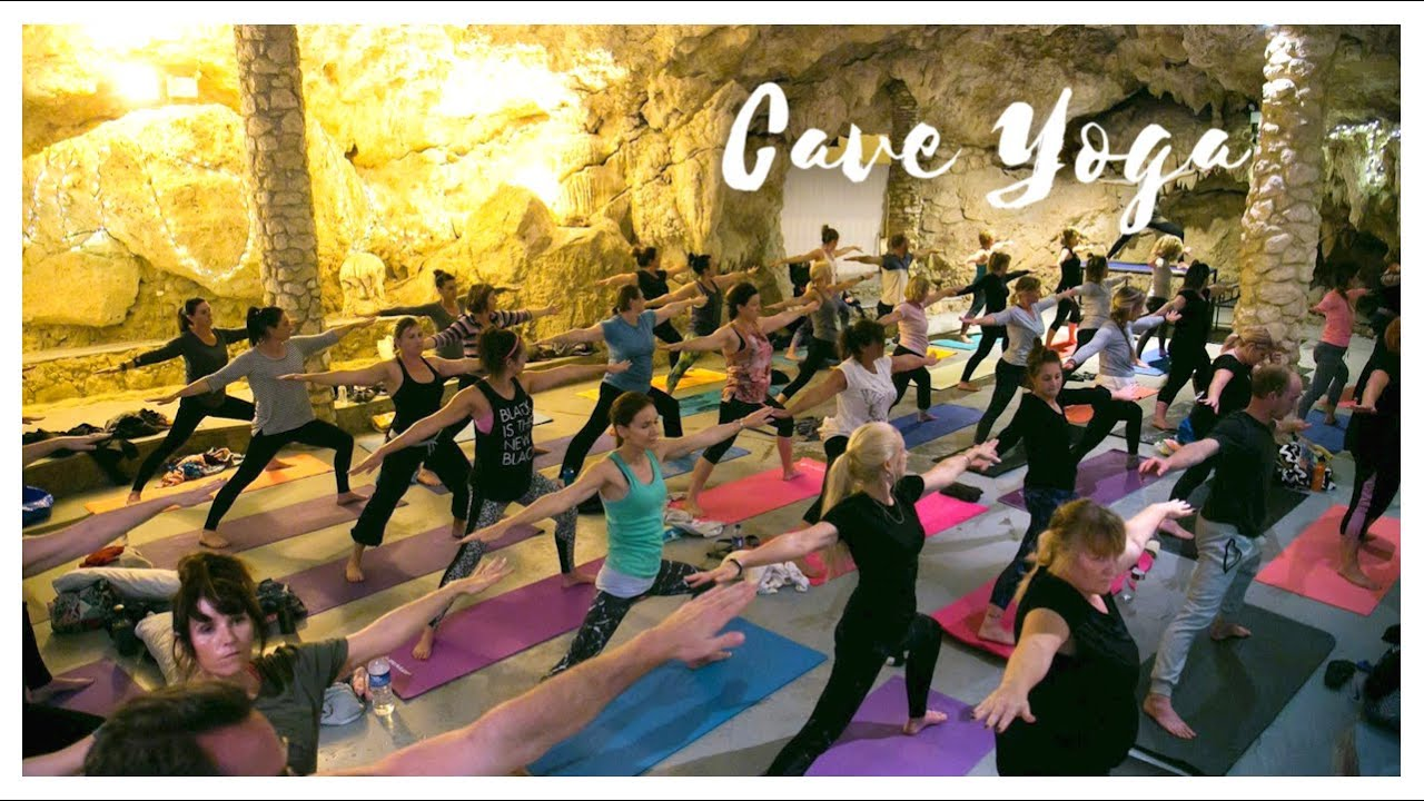 DIa Yoga - Yoga in the Cave in Yanchep National Park