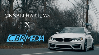 2017 bmw f80 m3 feature @knallhart_m3 || cbrmedia