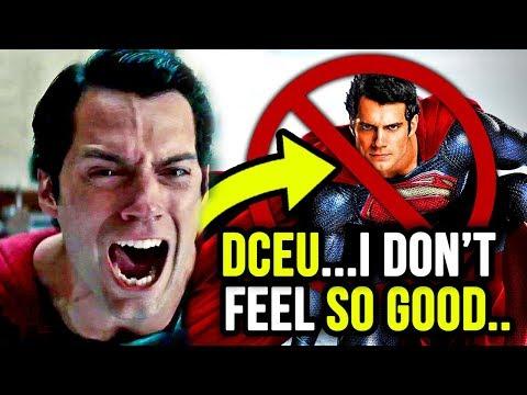 Henry Cavil is NO LONGER SUPERMAN?!