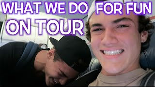 What We Do For Fun On Tour // Dolan Twins