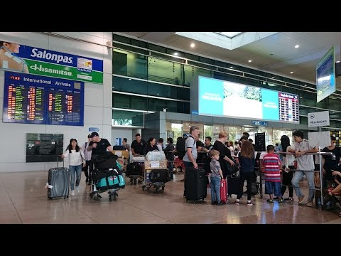 Arrival Hall at Tan Son Nhat International Airport | Travel in Saigon - HoChiMinh City 2017