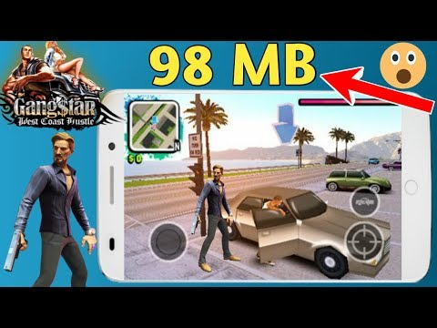 90 MB Gangstar West Coast Hustle Highly Compressed Android Game