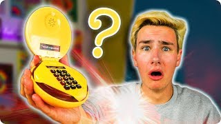The $12 Hamburger Phone!? Buying $252 Worth of Weird Tech…