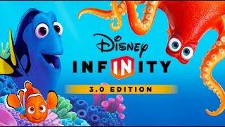 FINDET DORIE NEMO Deutsch Zeichentrick Spiele für Kinder - Kindervideos - Disney Infinity 3.0