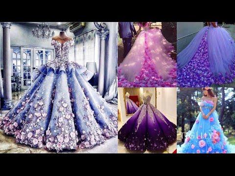 Wedding Flower Princess Dress.Luxury Wedding Dress 2021 #bridaldress #weddingdress
