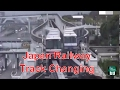 Japan Railway Track Change