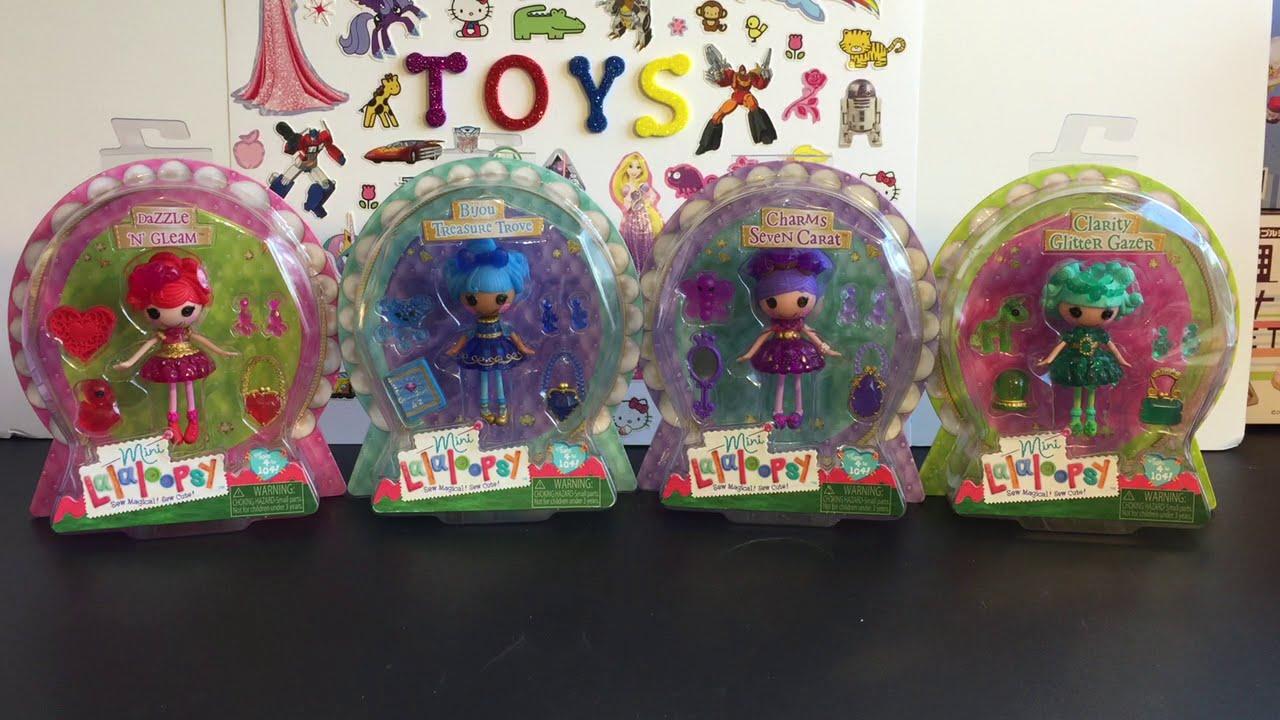 Lalaloopsy Gem Mini Dolls Dazzle N Gleam Bijou Charms Seven Carat
