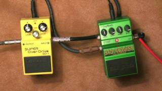 Boss SD-1 vs Digitech Bad Monkey