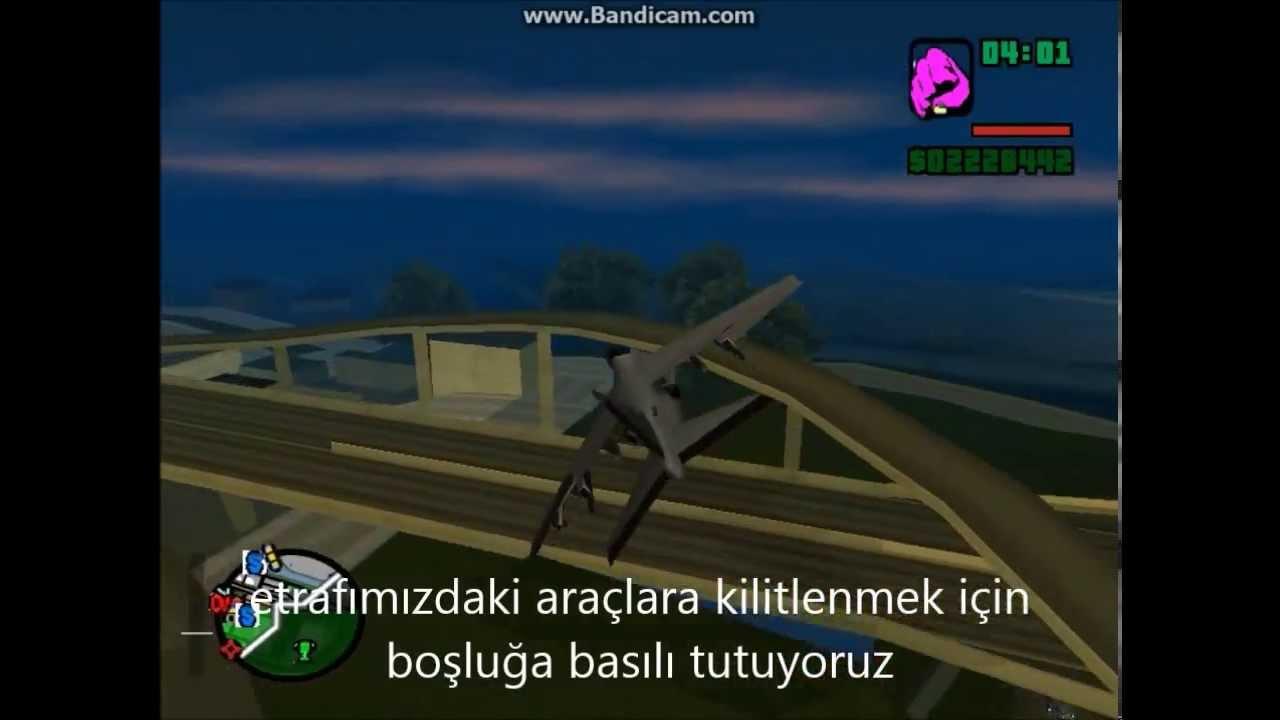 gta san andreas - jet uçağı nasıl uçurulur ? - youtube