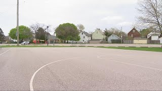 Lakewood police continue Madison Park shooting investigation, basketball hoops taken down