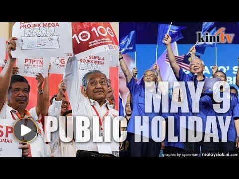 BREAKING NEWS: May 9 declared public holiday