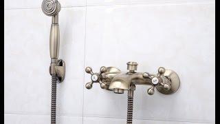 видео Смесители и аксессуары для элегантных ванн Migliore