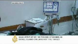 Gaza's hospitals struggle with casualties - 28 Dec 08 thumbnail