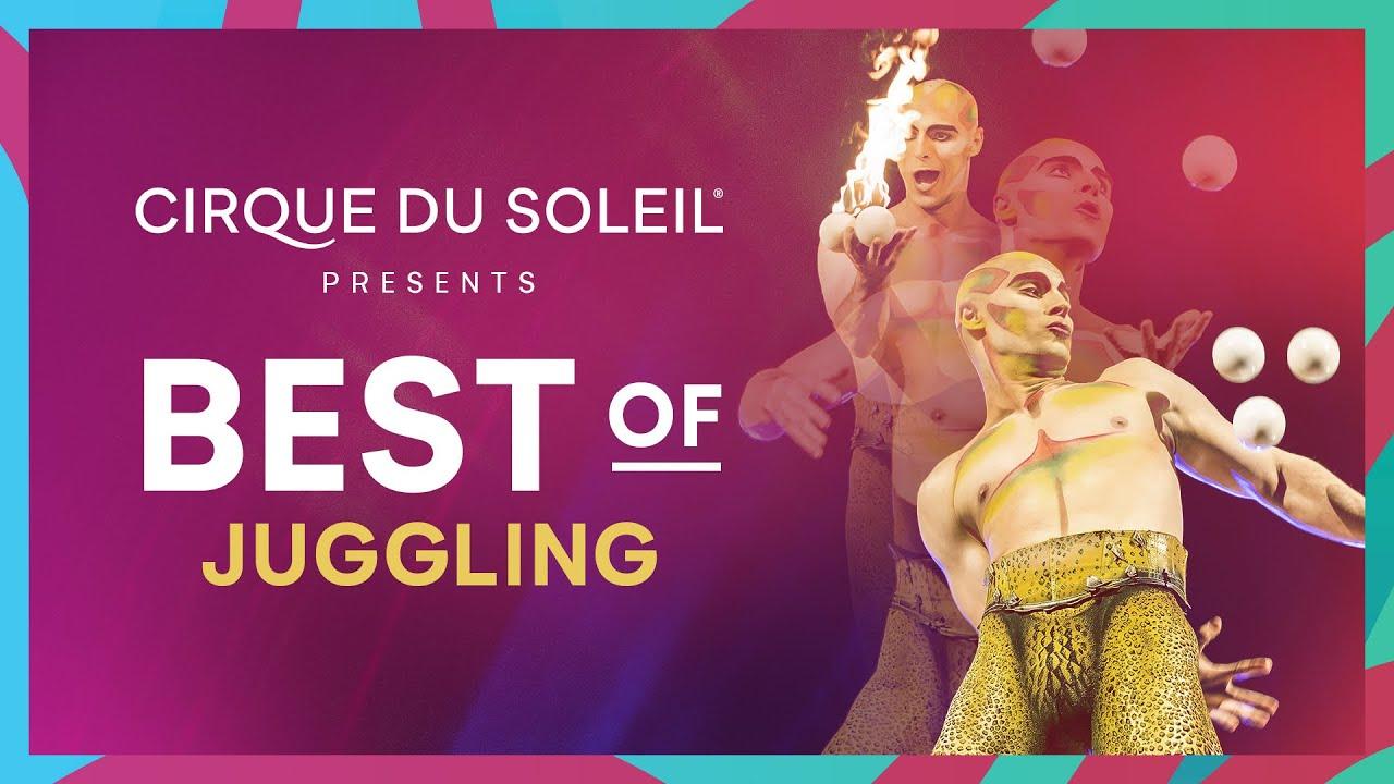 BEST OF JUGGLING | Cirque du Soleil | AMALUNA, TOTEM, KOOZA AND MORE…