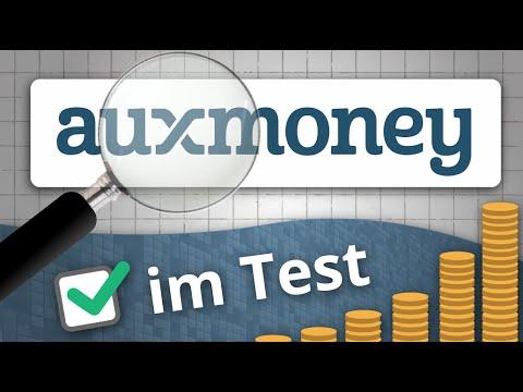 Bei AUXMONEY Geld anlegen - TEST der P2P Kreditplattform | Investieren in P2P Kredite