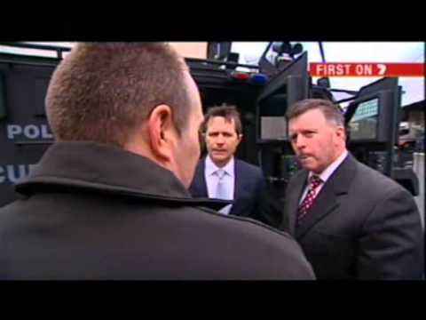 Jason Clare speaking about the 'BearCat' Armoured Rescue Vehicle (Seven News 14/08/12)
