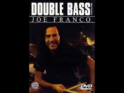 JOE FRANCO DOUBLE BASS DRUMMING DOWNLOAD