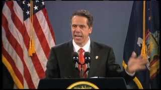 New York Governor Andrew Cuomo delivers 2013 State of the State Address