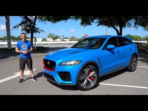 Is the 2019 Jaguar F-Pace SVR the BEST performance SUV you can BUY?
