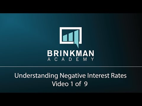 Understanding Negative Interest Rates (1 of 9) - History of the Negative Rates of Japan