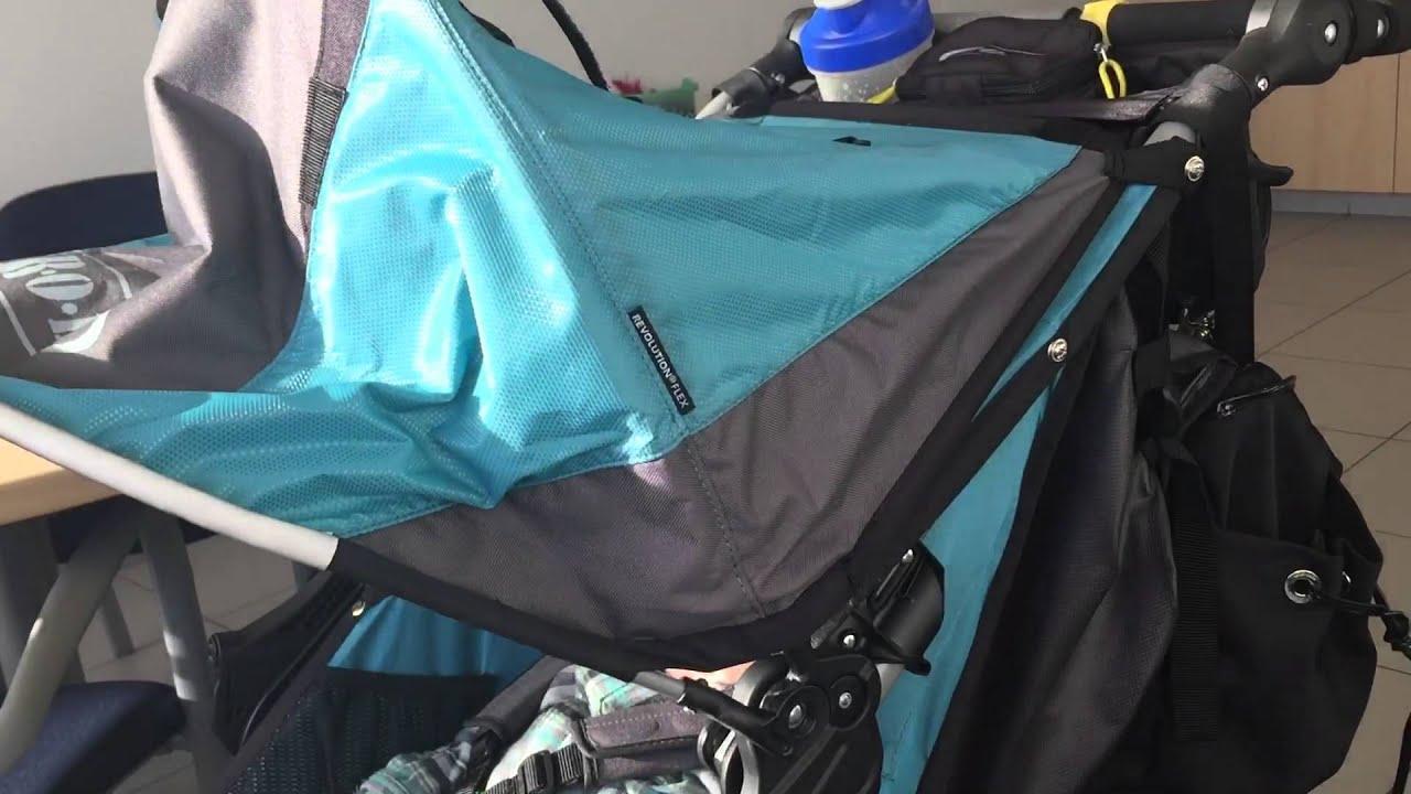 Bob Revolution stroller canopy issue & Bob Revolution stroller canopy issue - YouTube