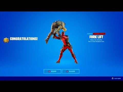 Fortnite Deadpool Week 8