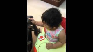 Jabra fan ho gaya. SRKs biggest n smallest fannnn Rajvi katariya