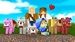 Wolf Life - Full Series! - Craftronix Minecraft Animation