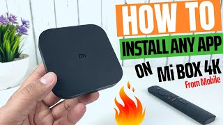 How to Install [Sideload] Apps on Mi Box 4K | Install Any Android App on Mi Box
