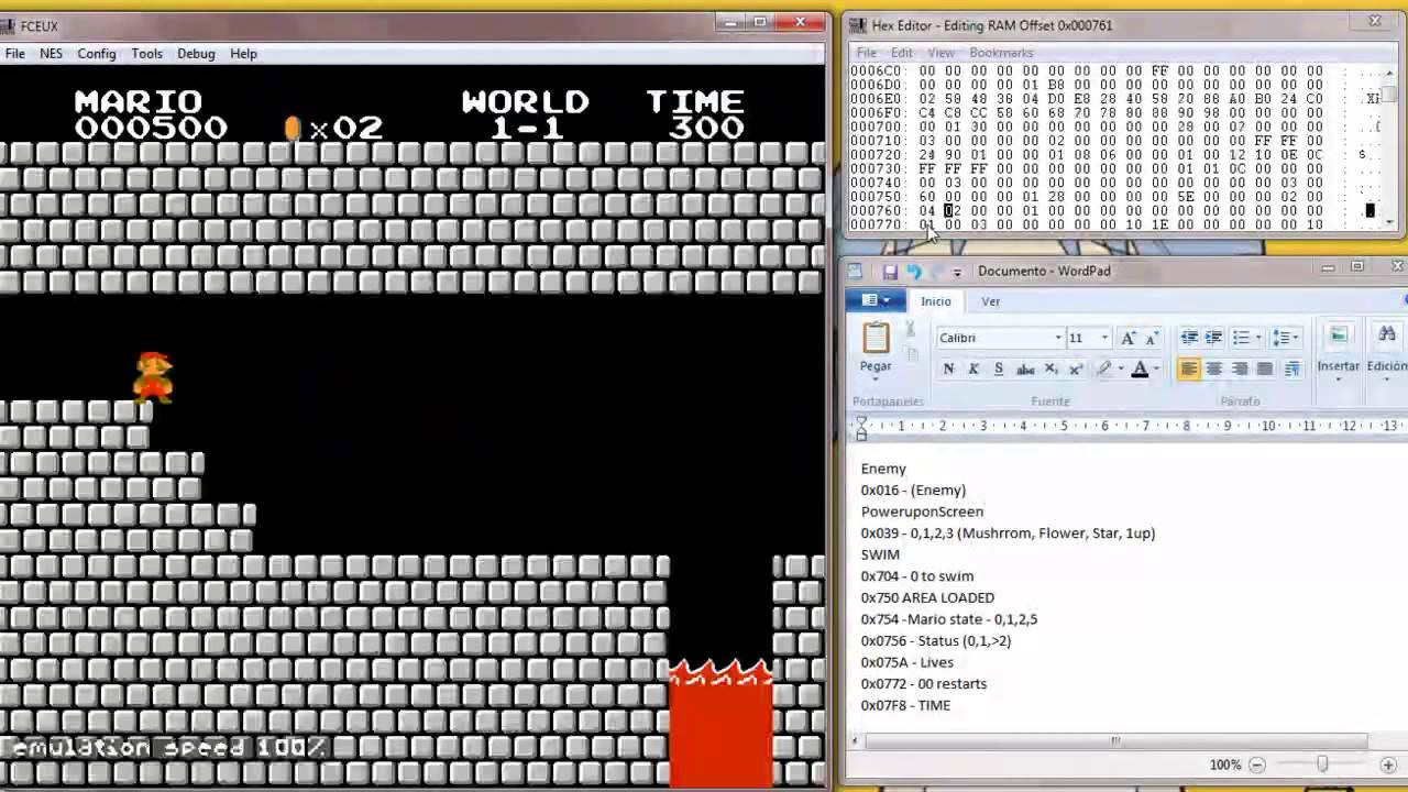 Super Mario Bros  Hex Hack