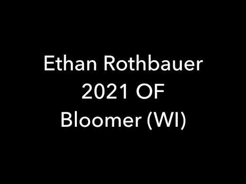 Ethan Rothbauer, 2021 OF Bloomer High School (WI).