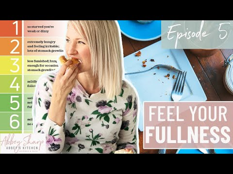 What To Do If You NEVER Feel FULL! Plus Intuitive Eating With a Medical Condition (Like Celiac)