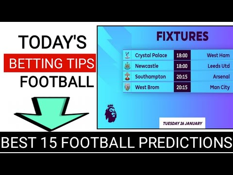 Epl betting tips and predictions for tomorrow betting line bears lions game