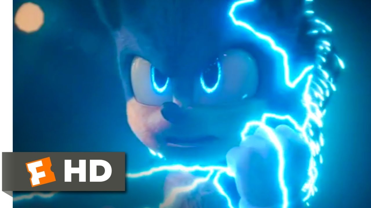 Sonic The Hedgehog 2020 Super Sonic Scene 10 10 Movieclips Youtube
