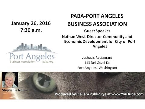 2016-01-26 Nathan West  updates projects City ofPort Angeles