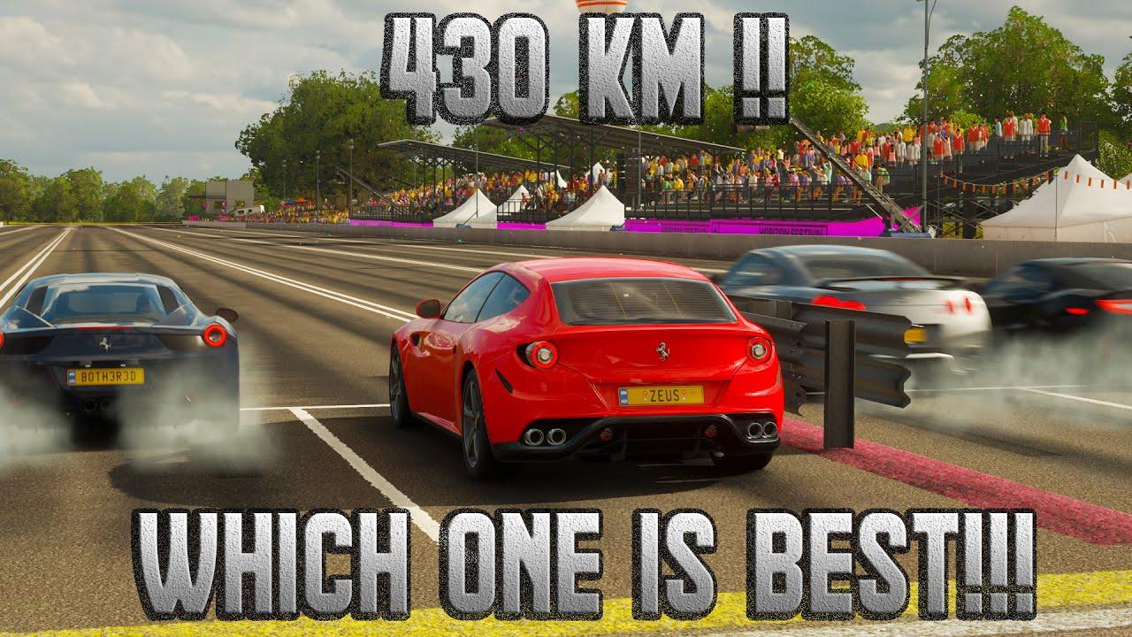 Hangisi En Hızlı ! - Forza Horizon 4