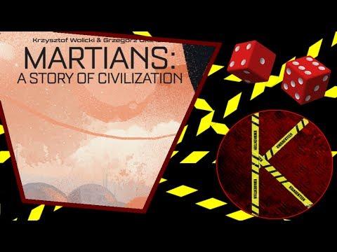 The Kwarenteen Reviews: Martians a Story of Civilization