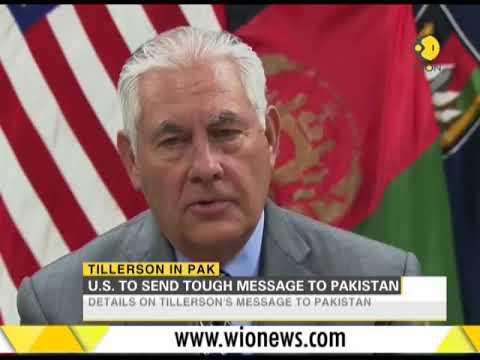 Rex Tillerson to push Pakistan for action on terror groups