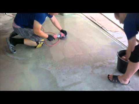 Полировка бетона своими руками