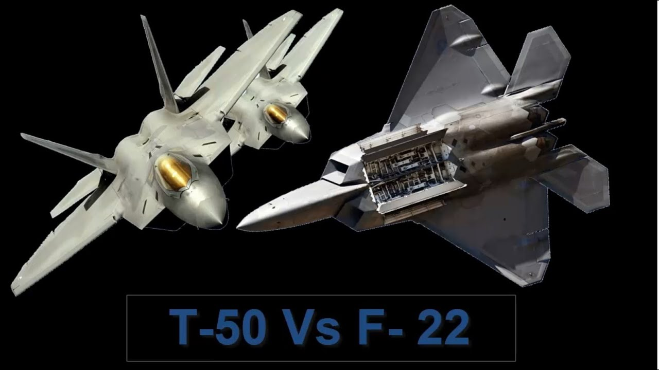 All Types f 22 raptor specs : PAK FA sukhoi t-50 Vs F-22 Raptor / Major specifications and ...