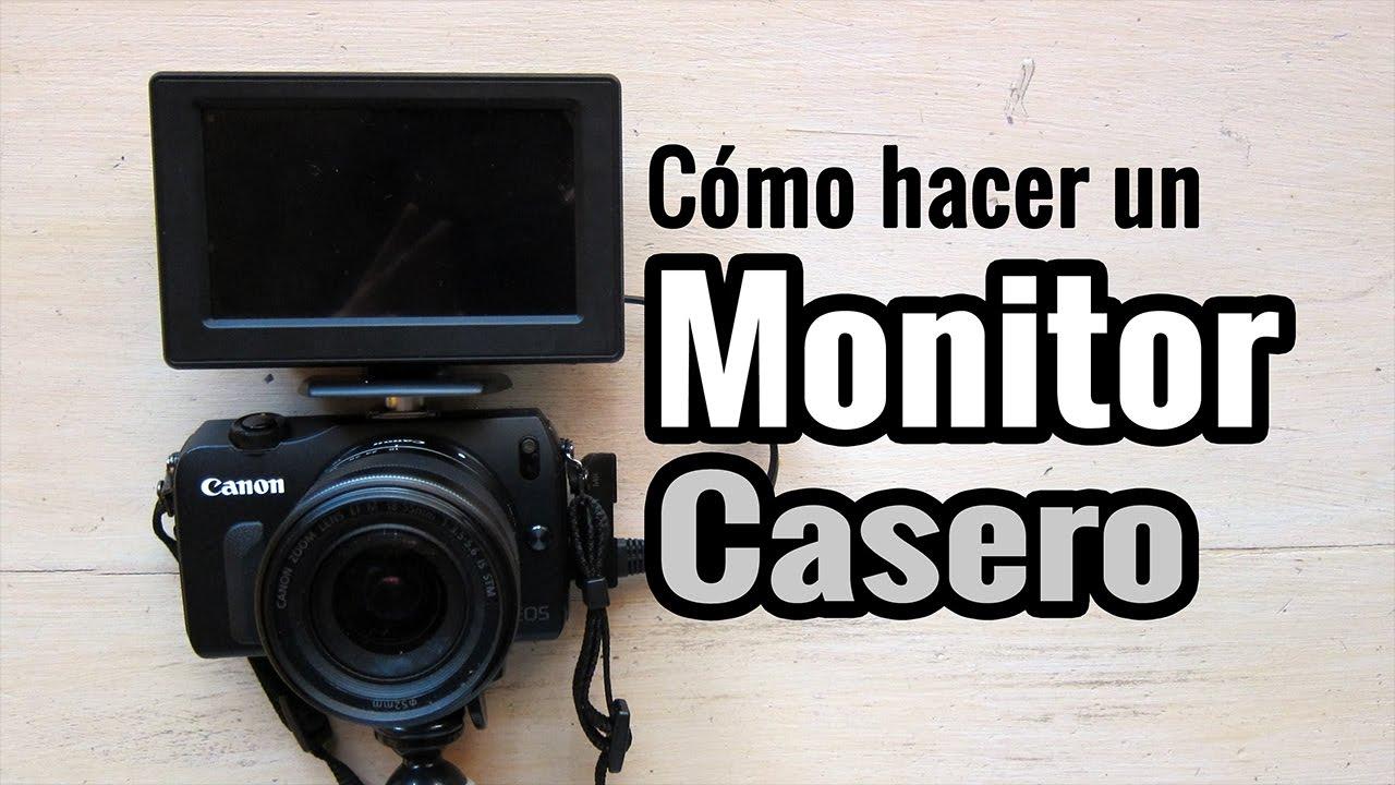 5f12f9287 Cómo hacer un Monitor Portátil para Cámara Digital - YouTube