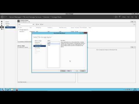 Setting up storage spaces and deduplication on Window Server 2012