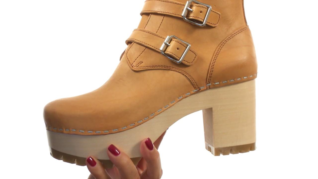 Swedish Hasbeens Buckle Boot