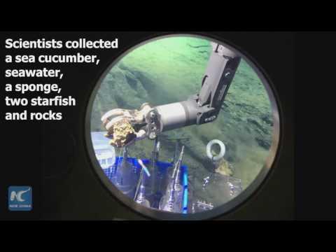 4,811 meters beneath sea level! Follow Xinhua journalist to explore Mariana Trench