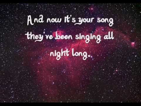 Mayday Parade - Your Song - (Lyrics)