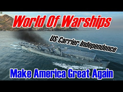 [World of Warships] Independence : Make America Great Again