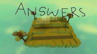 Roblox Sunflower Garden Answers