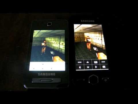 Samsung S8000 JET VS F480 Tocco, Jbenchmark HD test