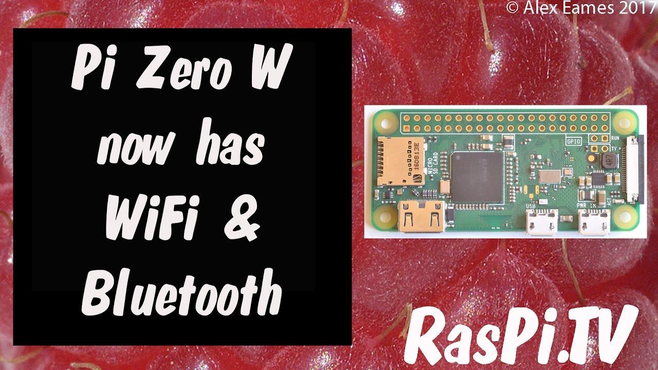 Raspberry Pi Zero W bundle with camera uSD card header and adaptors
